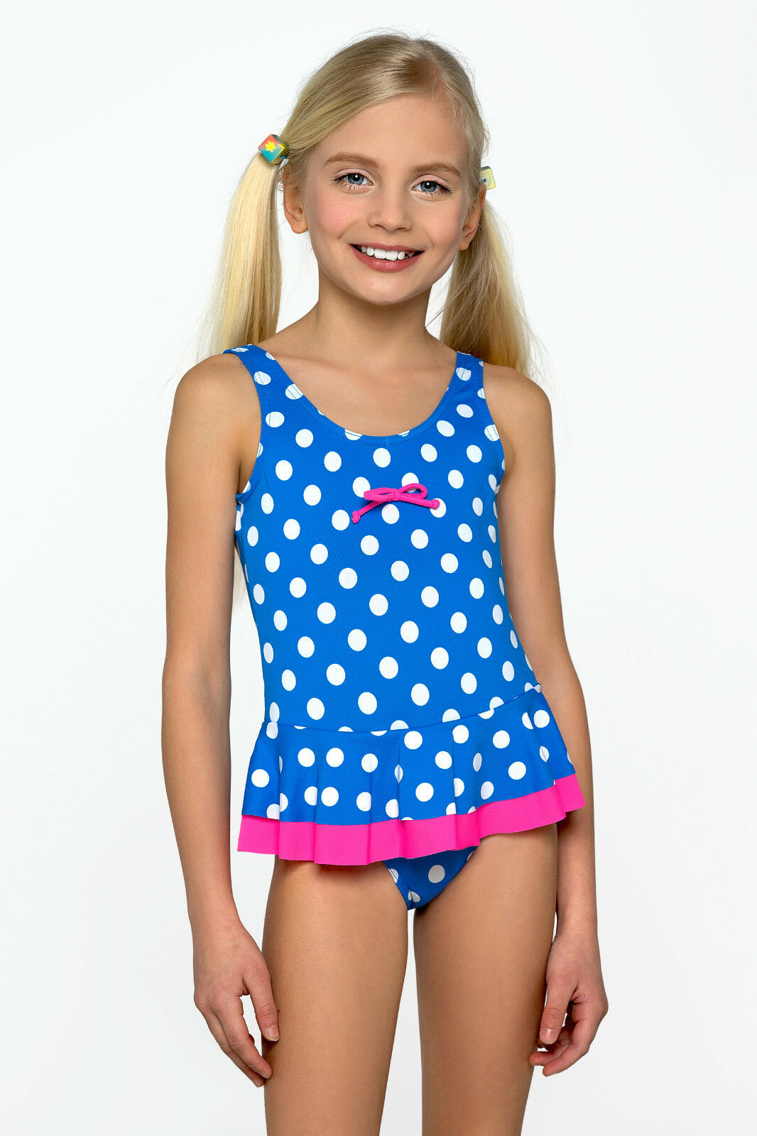 New Little Girls Sport Swimming Costume Swimwear Swimsuit ...