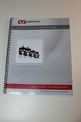 Instron 2712-04x Series Pneumatic Grip Operators Guide M10-16235-en Rev A