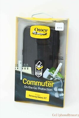 Otterbox Commuter Series Case Cover for Samsung Galaxy S7 Black - (77-53237) NEW