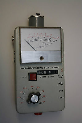 Ird Mechanalysis Model 308 Sp511 Vibration Sound Level Meter