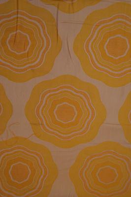 70er VINTAGE BLUMEN GRAZIELA STOFF METERWARE v BALLEN POP ART FABRIC PANTON 70s