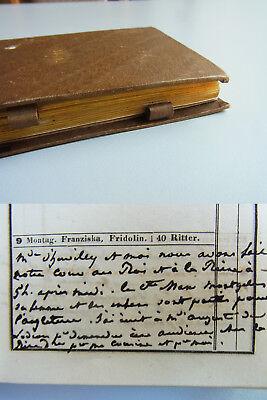 ADEL in BAYERN // Französisches Tagebuch 1840, Kontakt zu Königin und Hochadel