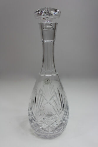 "VINTAGE ROGASKA RICHMOND CRYSTAL DECANTER  12 1/2"" TALL ETCHED SIGNED."
