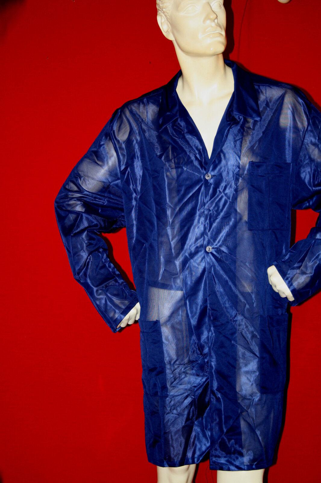 original 70er jahre fris r herren nylon kittel mantel. Black Bedroom Furniture Sets. Home Design Ideas