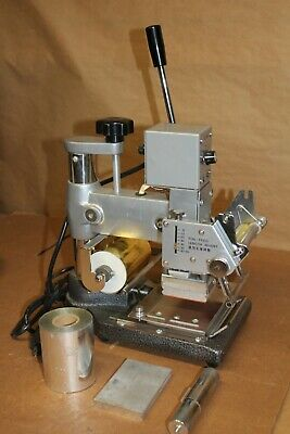 Tj-90a Hot Foil Stamping Machine With Extras 2