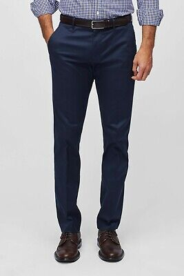 Bonobos Men's Weekday Warrior Dress Pants - Monday Blues - Tailored Fit - 32x30 Blue Dress Pants