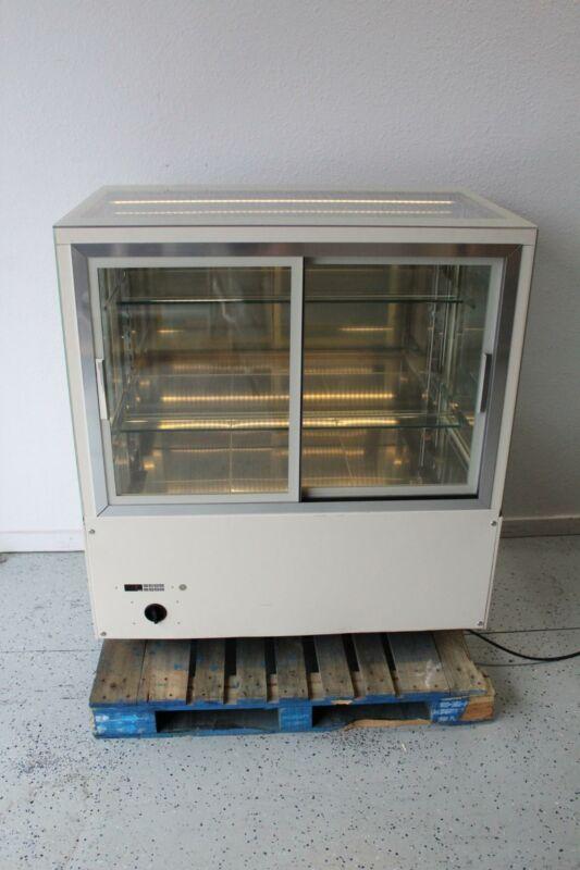 "Oscartek Italia 3RV120 48"" x 31"" Glass Grab an Go Warming Cabinet LED Lighting"