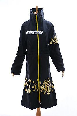 OP-03 Law Trafalgar One Piece Pirat Cosplay Mantel Coat Kostüm costume schwarz