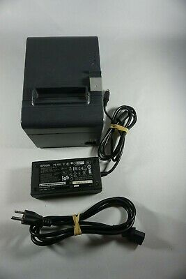 Epson TM-T20II M267A thermal receipt printer. With power cord. For POS. USED segunda mano  Embacar hacia Mexico