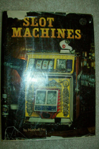 "1983 ""Slot Machines"" Book by Marshall Fey   First Edition   Free Shipping"