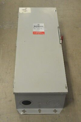 Hun324 Westinghouse 200 Amp 240 Volt Non Fusible Indoor Safety Switch Disconnect