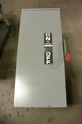 Ge Th3364r Refurbished 200 Amp 600 Volt Fusible 3r Outdoor Disconnect Switch