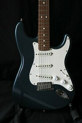 1991 Fender American Standard Stratocaster - Made is USA- Gunmetal Blue