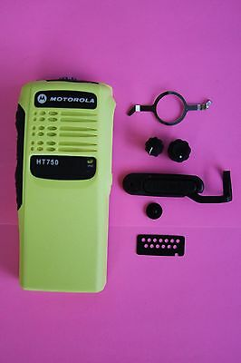 YELLOW Motorola HT750 16 Channel Refurb Housing Kit