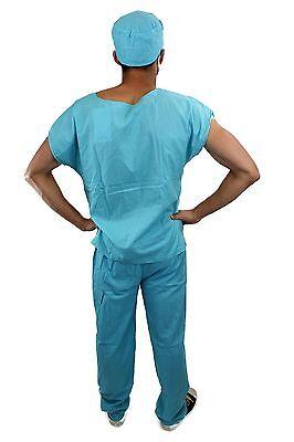 Dr. Med. Sexy Herrenkostüm Kostüm Scrub Doktor Arzt Chirurg OP-Kittel Gr. 56 - Herren Sexy Arzt Kostüm