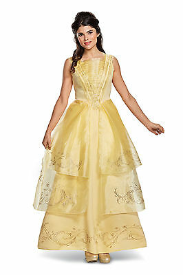 Adult Disney Beauty And The Beast Belle Ball Gown Costume](Adult Disney Belle Costume)