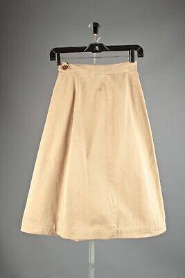 VTG Women's WWII 40s WAAC Khaki Skirt AS-IS Sz XS #2697 WW2 1940s WAC Uniform for sale  Lawrence