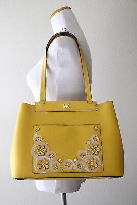 MICHAEL MICHAEL KORS Meredith East West Bonded Shoulder Bag 30T8GKWT8Y Sunflower