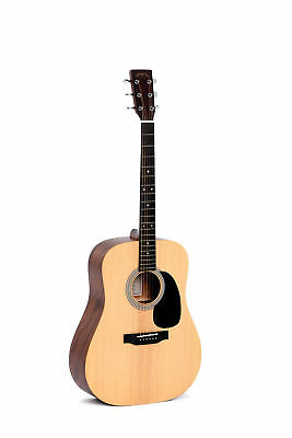 Sigma DM-ST+ Dreadnought Sitka Spruce Top Acoustic Guitar Natural
