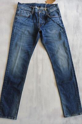 MIC CANE HOMME Slim-Skinny Low Waist Jeans Hose stretch Bio Denim W32/L34 Neu 4 ()