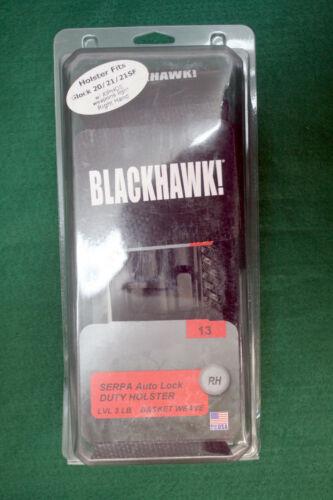 Blackhawk Glock 20, 21 21SF / XIPHOS Weapons Light Right Hand Holster