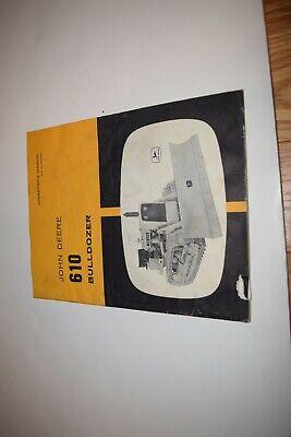 John Deere 610 Bulldozer Operators Manual Om-u12893u