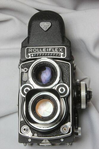 ROLLEIFLEX 3.5 F TYPE K.4F. 75MM F3.5 ZEISS PLANAR 6 ELEMENTS FILM TESTED