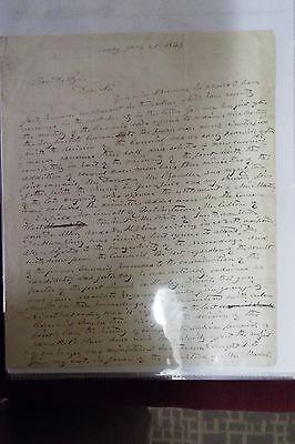 John Woodbridge 1843 ALS