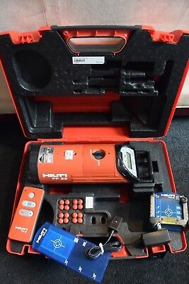 Hilti Green Beam Pipe Laser Model Pp 25 Maker Of Topcon Tp-l5g