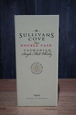 Sullivans Cove Double Cask DC110 Whisky - Rare Release - 46.9%