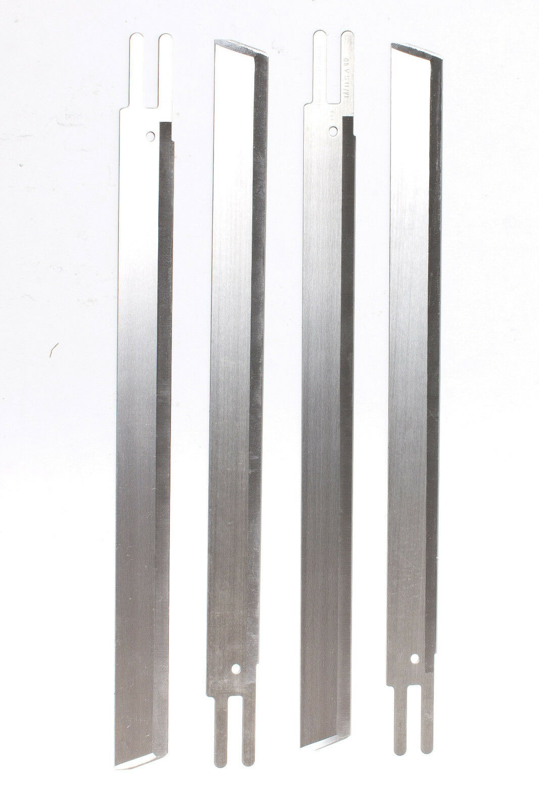 """Made in USA Eastman Cutting Straight Knives 6/"""" 1 dozen High Speed Steel"""