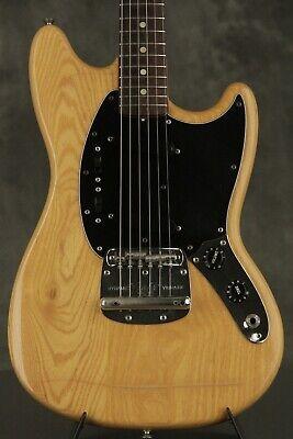 original 1977 Fender MUSTANG Natural segunda mano  Embacar hacia Argentina