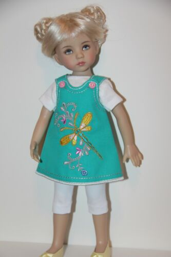 """Outfit FOR Effner 13"""" Little Darling Dolls= Summer 3-pce Outfit - NEW"""