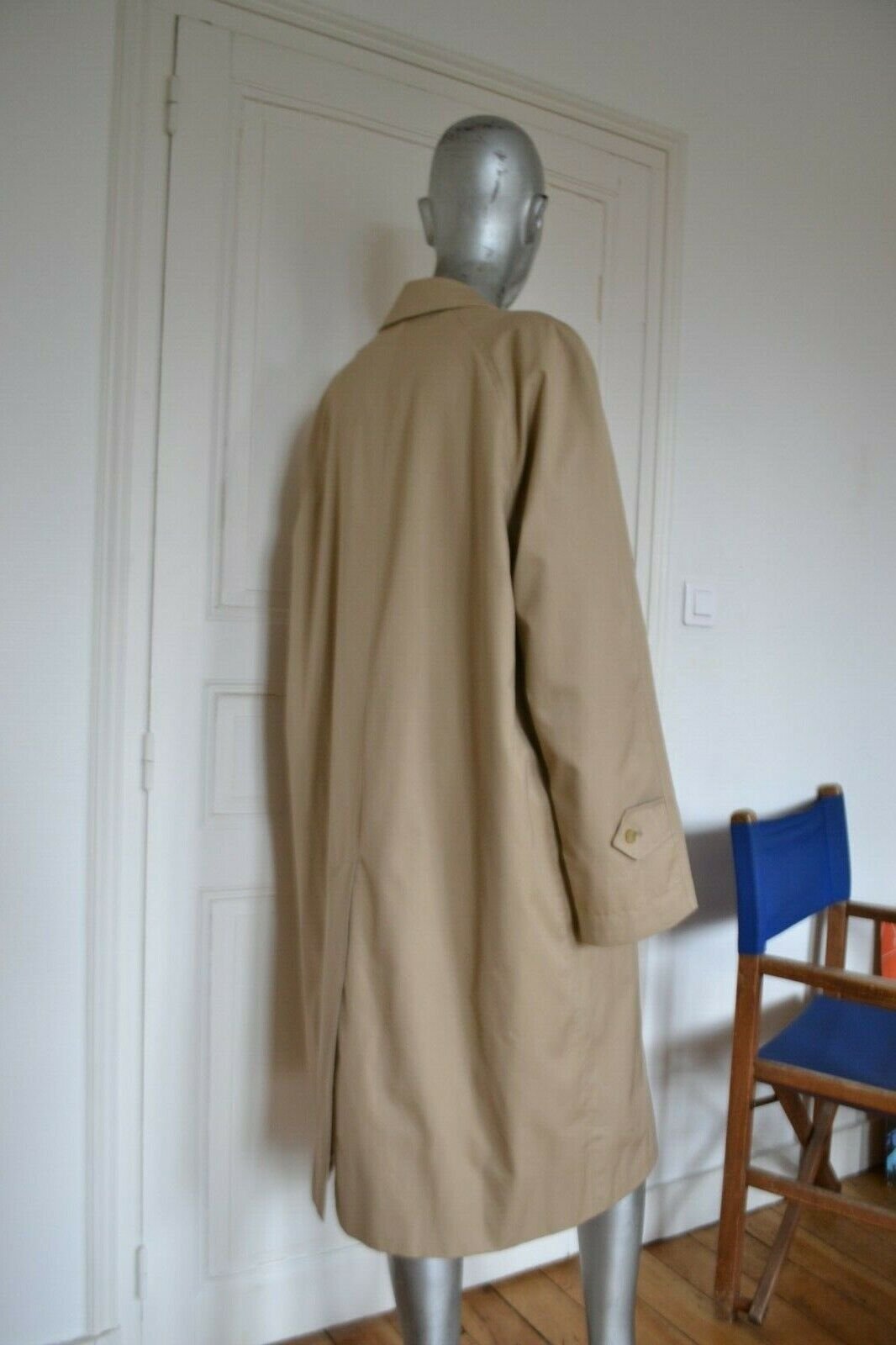 Authentique trench burberry vintage - homme l/xl