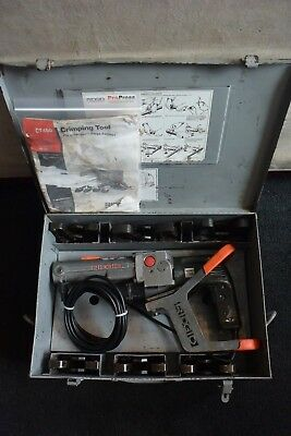 Ridgid Brand Propress Crimper Set Model Ct400 6 Jaws 12 Through 2