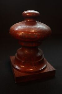 Antique Wood Finials