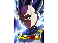 Dragon Ball Super Poster Vegeta Ultra Instinct no logo 12inx18in Free Shipping