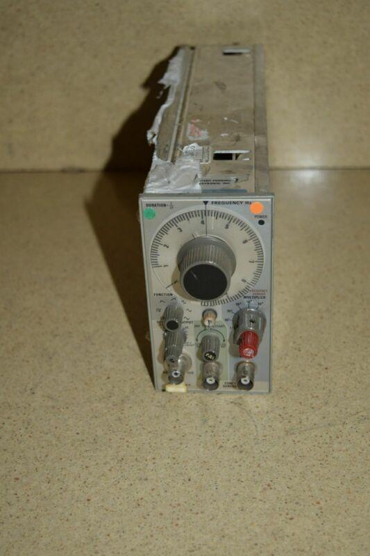 TEKTRONIX FG 501 FG501  FUNCTION GENERATOR PLUG IN (TP580)