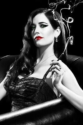 Sin City A Dame to Kill For Eva Green Movie Silk Poster