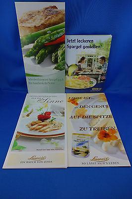 Spargelrezepte - maximal 12 Stück aussuchen Knorr|Tupper|Thomy|Lacroix ... - NEU (Tupperware 12 Stück)