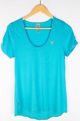 Kari Traa Women T-Shirt Active Sport Leisure Lightweight Blue size L