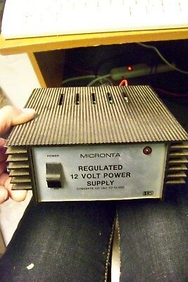 Micronta .22-120a Regulated 12 Volt Power Supply