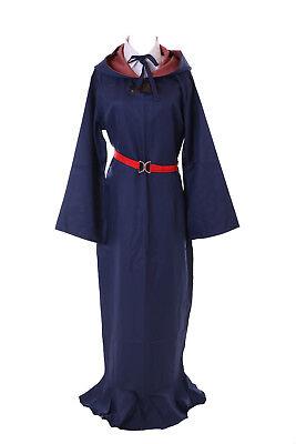 MN-50 Sucy Little Witch Academia blau Hexe 4-tlg. Set Kostüm Cosplay Kleid