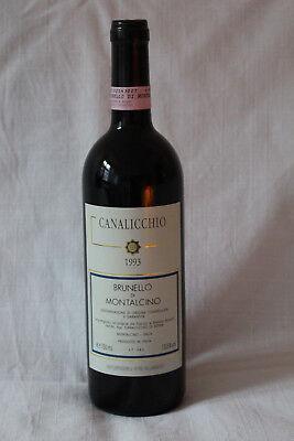 1993 Brunello die Montalcino Canalicchio Rotwein Italien