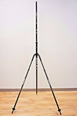 Topcon Carbon Fiber Snap Lock Rover Rod Dutch Hill Bipod Gps Rtk Trimble Leica