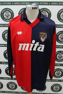 maglia calcio shirt maillot trikot camiseta GENOA ERANIO  MATCH WORN 1991/92 image