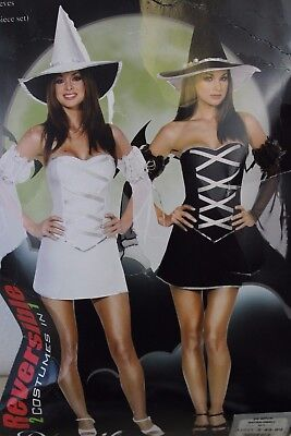Dreamgirl Which Witch Reversible Sexy Women's Adult Halloween Costume - Which Halloween Costume