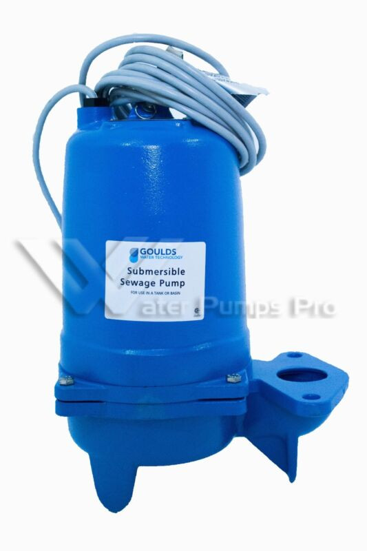 Goulds WS0734BF Submersible Sewage Pump, 3/4 HP
