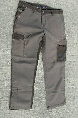 Quicksilver Snowboard Cargo Pants Brown Courdery Size 36 Men's