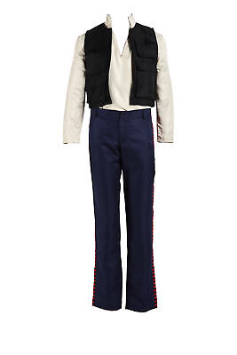 Star Wars Episode IV Cosplay Costume Han Solo Outfit Set V1